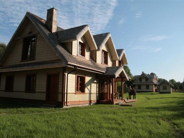 Projekt domu w Białowieży